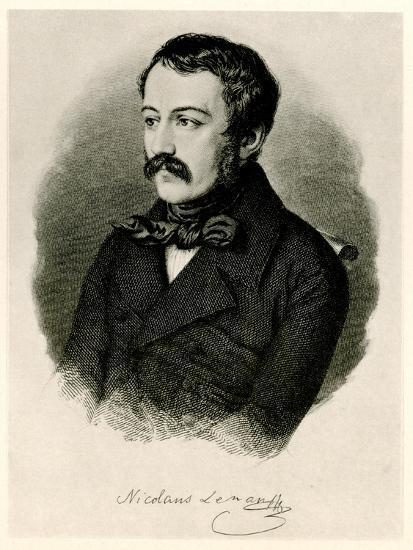 Nikolaus Lenau, 1884-90--Giclee Print