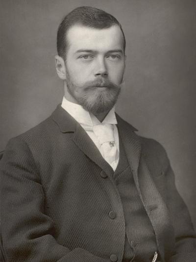Nikolay Aleksandrovich Tsar Nicolas II Ruled 1894-1917- Downey-Photographic Print