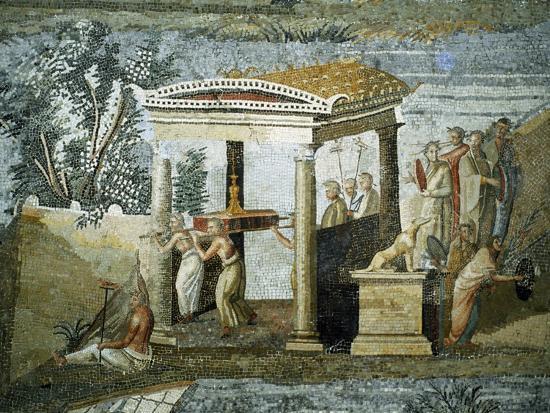 Nile Mosaic--Giclee Print
