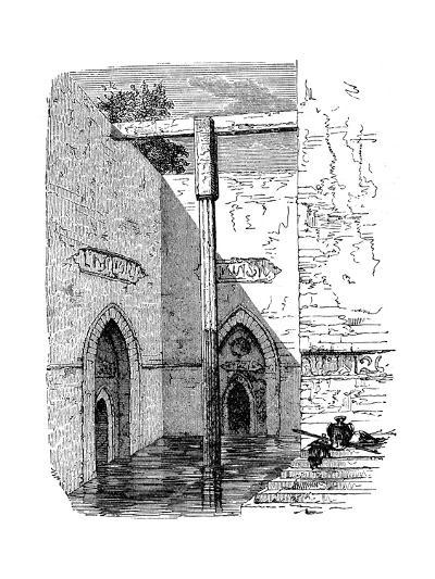 Nilometer on the Island of Roda, Cairo, Egypt, C1895--Giclee Print