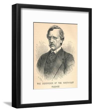 Nils Adolf Erik Nordenskiold, (1832-1901), Arctic Explorer, 1893