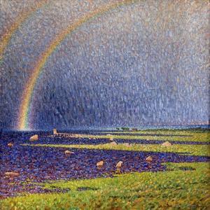 Regnbagen, 1910 by Nils Kreuger