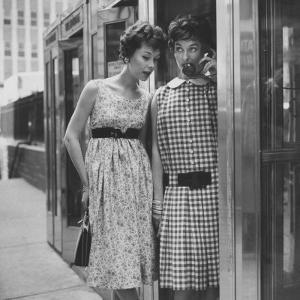 Dresses Stressing the Misplaced Belt by Nina Leen