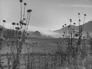 Fog Rolling in over the Santa Lucia Mountains by Nina Leen