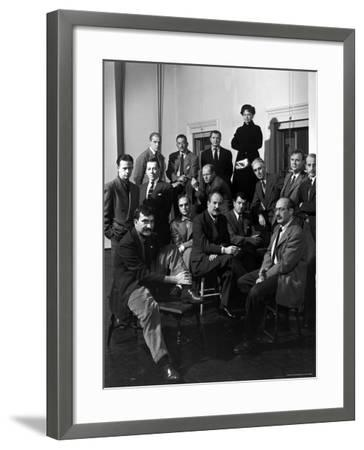 "Group Portrait of American Abstract Expressionists, ""The Irascibles"""