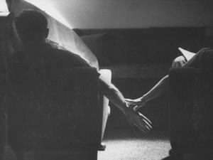 Holding Hands Is a Symbol of Happy Marriage by Nina Leen