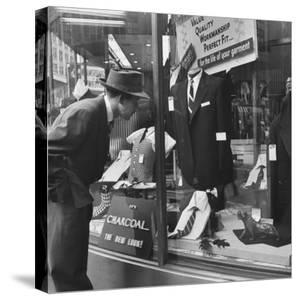 Man Shopping for Clothing by Nina Leen
