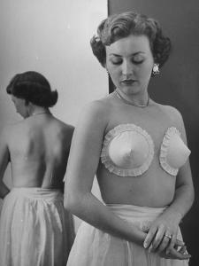 New Type Brassieres by Nina Leen