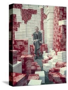 Rh Macy and Company Chief Executive Officer Jack I Straus, 1948 by Nina Leen