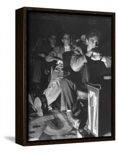 The Local Movie Theater, Boys Have a Very Difficult Time Finding a Place to Put Their Long Legs by Nina Leen