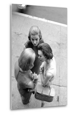 Three Women with Page Boy Hair Styles, New York, 1955