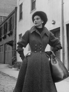 Women's Tweed Fashions by Nina Leen