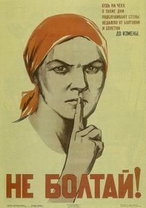 Do Not Chat!, 1941 by Nina Nikolayevna Vatolina