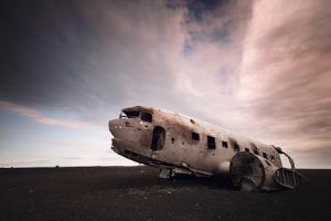 Iceland Plane Wreck by Nina Papiorek