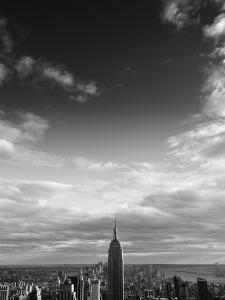 NYC Manhattan Sky by Nina Papiorek
