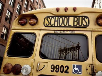 NYC School Bus by Nina Papiorek