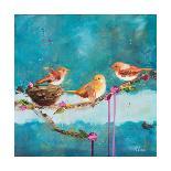Five on a Wire-Ninalee Irani-Art Print
