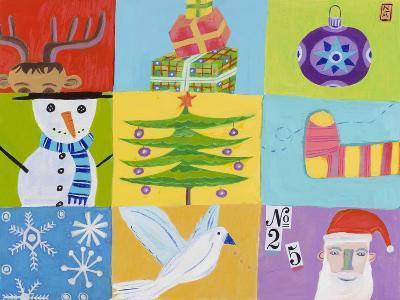 Nine Christmas Squares-Nathaniel Mather-Giclee Print
