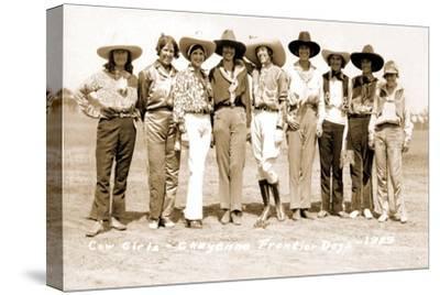 Nine Cowgirls