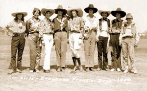 Nine Cowgirls
