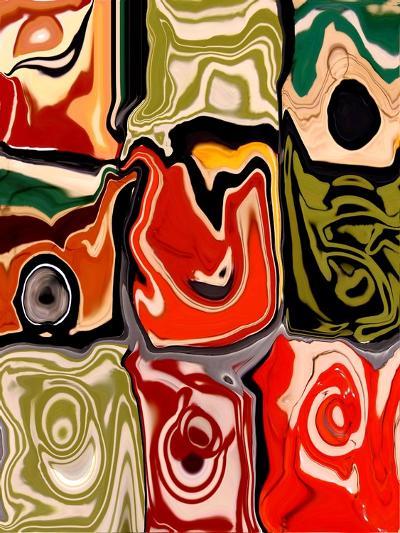 Nine Patch I-Ricki Mountain-Art Print