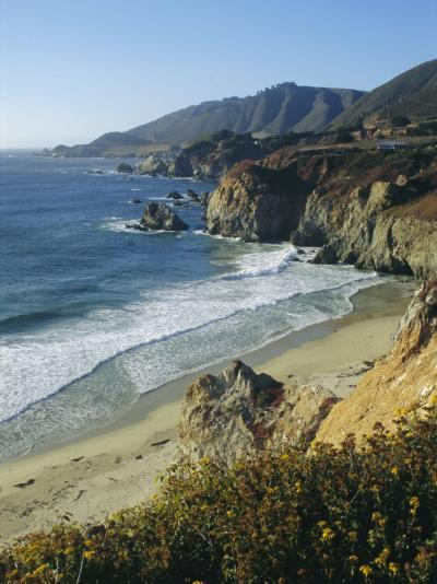 Ninety Miles of Rugged Coast Along Highway 1, California, USA-Christopher Rennie-Photographic Print