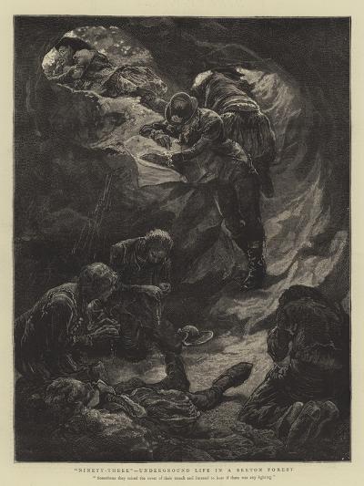 Ninety-Three, Underground Life in a Breton Forest--Giclee Print
