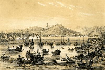 Ningbo, One of the Five Ports Opened by the Late Treaty to British Commerce, China, 1847-JW Giles-Giclee Print