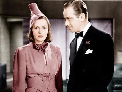 NINOTCHKA, from left: Greta Garbo, Melvyn Douglas, 1939--Photo