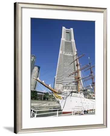 Nipponmaru Historical Training Ship Yokohama Maritime Museum Yokohama, Japan--Framed Photographic Print