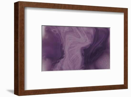 Nirvana: And, a Purple Flower Grows in the Brown Earth-Masaho Miyashima-Framed Giclee Print