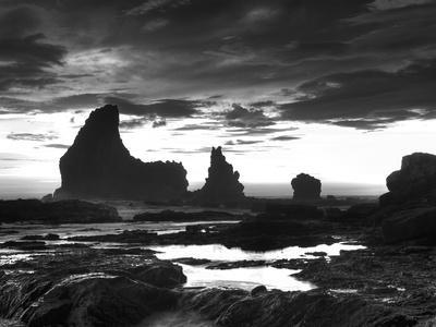 Grey Cloud Tide Sunset