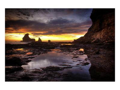 Still Tide Pool Sunset