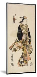 Right: in the Style of an Actor, C. 1730 by Nishimura Shigenaga