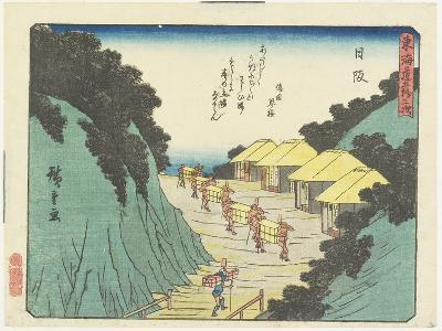 Nissaka, 1837-1844-Utagawa Hiroshige-Giclee Print