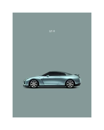Nissan GT-R-Mark Rogan-Giclee Print