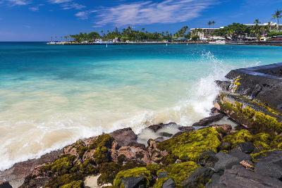 Niumalu Beach at Kailua Bay, Kailua-Kona, the Big Island, Hawaii, Usa-Russ Bishop-Photographic Print