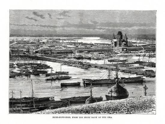 Nizhniy Novgorod, Russia, 1879-C Laplante-Giclee Print