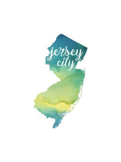 NJ Jersey City-Paperfinch-Art Print