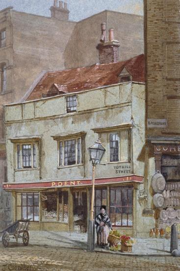 No 1 Tothill Street, Westminster, London, C1880-John Crowther-Giclee Print