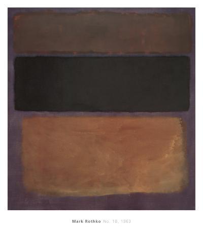 No. 10, 1963-Mark Rothko-Art Print