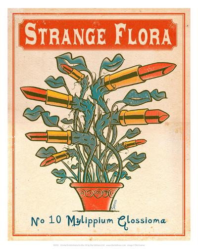 No.10 Mylippium Glossioma-Phil Garner-Art Print