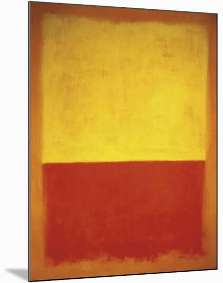 No. 12, 1954-Mark Rothko-Mounted Art Print