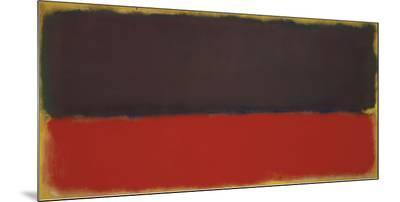 No. 13, 1951-Mark Rothko-Mounted Print