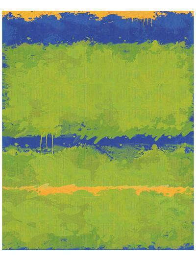 No. 1967 Olive Green Blue-Carmine Thorner-Art Print