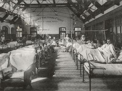 No. 2 (Battle) War Hospital, Reading, Berkshire-Peter Higginbotham-Photographic Print