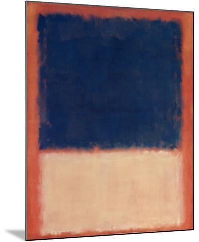 No. 203, c.1954-Mark Rothko-Mounted Print
