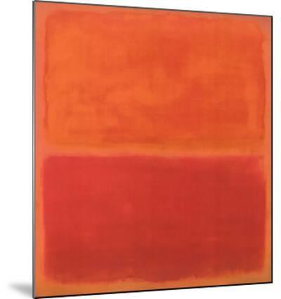 No. 3, 1967-Mark Rothko-Mounted Print