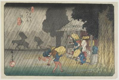 No. 40 Suhara, 1830-1844-Utagawa Hiroshige-Giclee Print