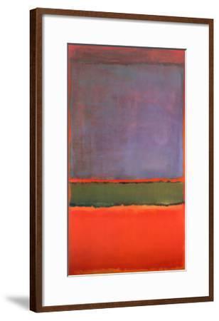 No. 6 (Violet, Green and Red), 1951-Mark Rothko-Framed Art Print